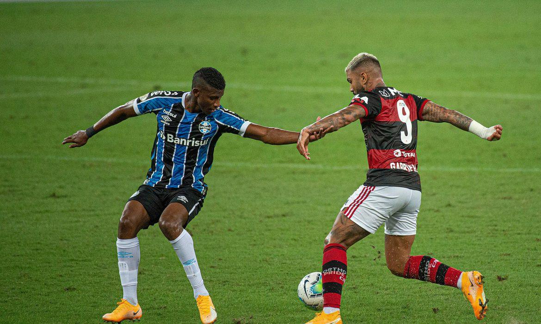 brasileirao:-gremio-e-flamengo-fazem-jogo-atrasado-em-porto-alegre