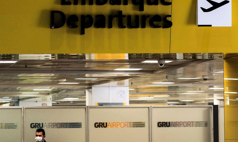 variante-do-coronavirus-faz-paises-suspenderem-voos-com-o-brasil