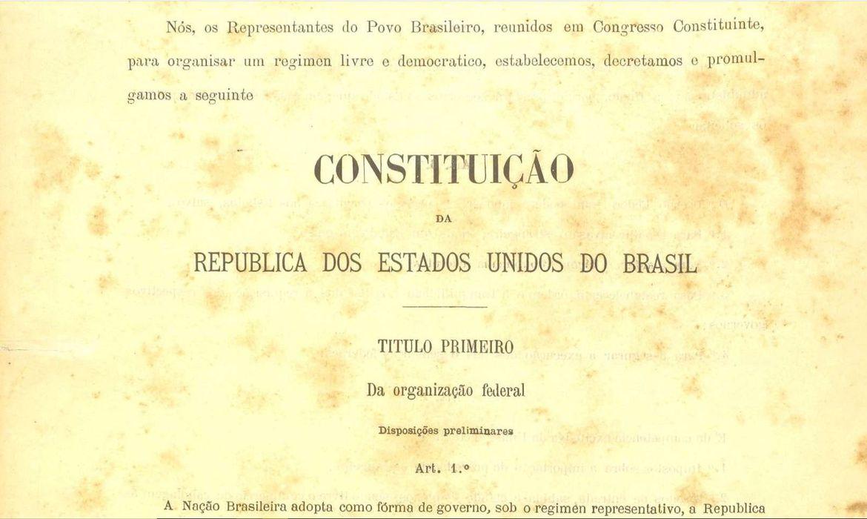 confira-dez-curiosidades-sobre-a-constituicao-republicana-de-1891
