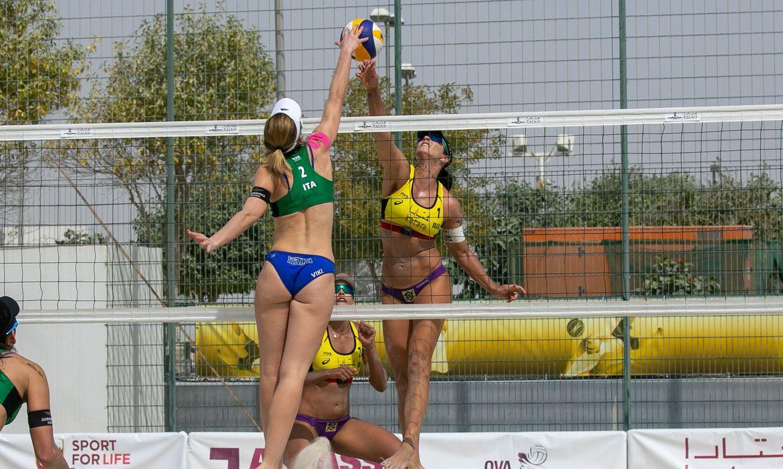 volei-de-praia:-duplas-brasileiras-avancam-no-circuito-mundial