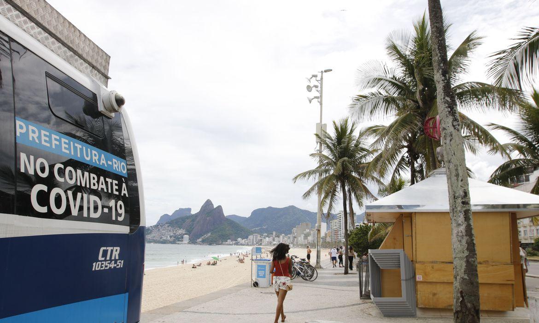 covid-19:-prefeitura-do-rio-proibe-permanencia-nas-praias