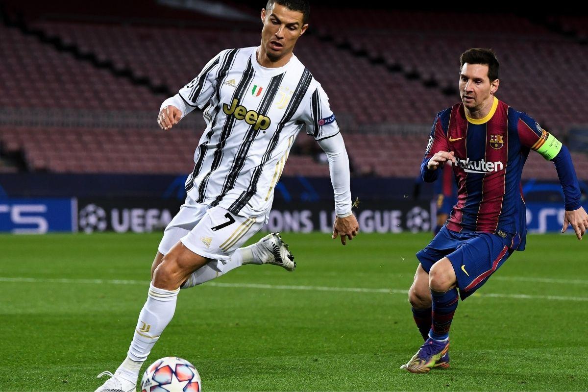 Messi e CR7 na Champions dá visibilidade a outros craques
