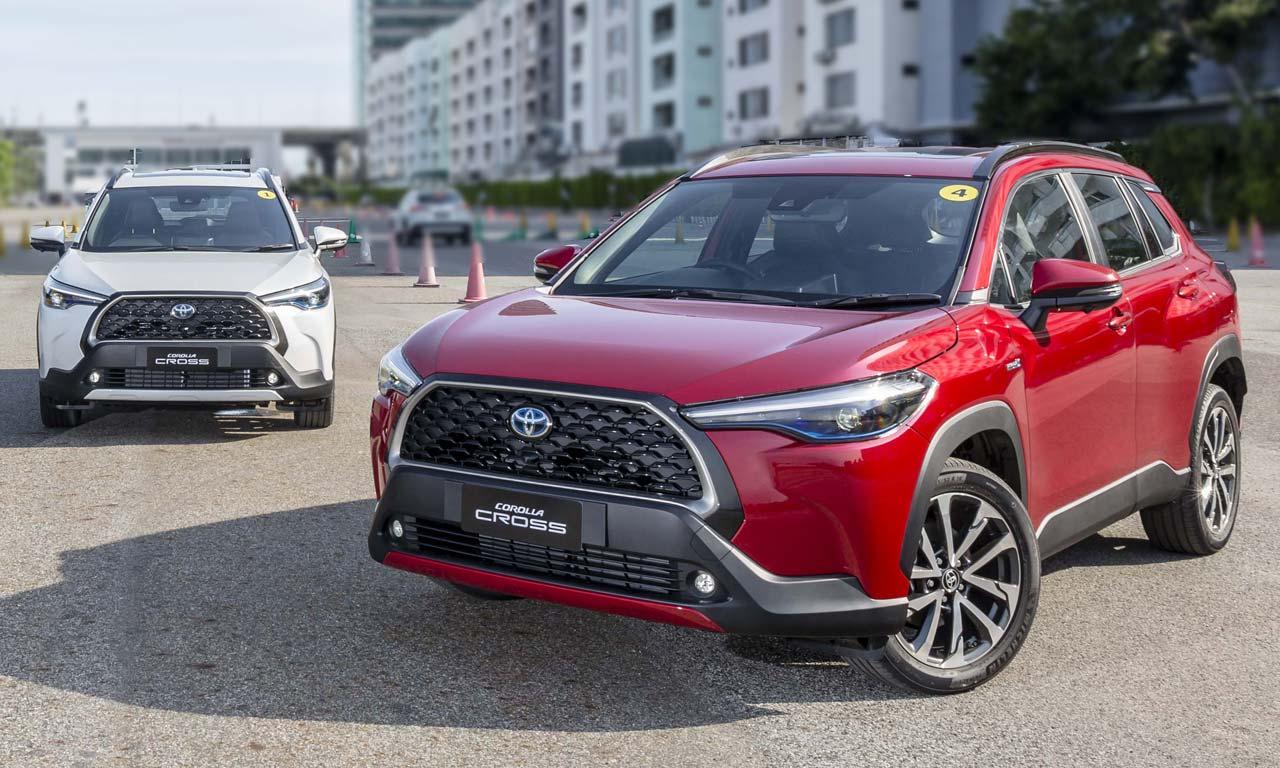 Corolla Cross: Novo SUV da Toyota baseado no Corolla