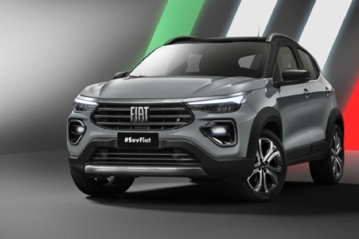 A Fiat revela imagens do SUV Projeto 363