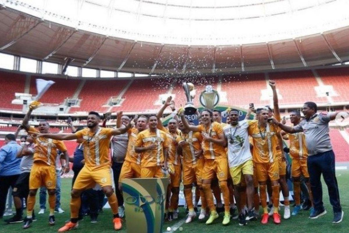 Brasiliense vence Ceilândia e conquista 10º título da história do time