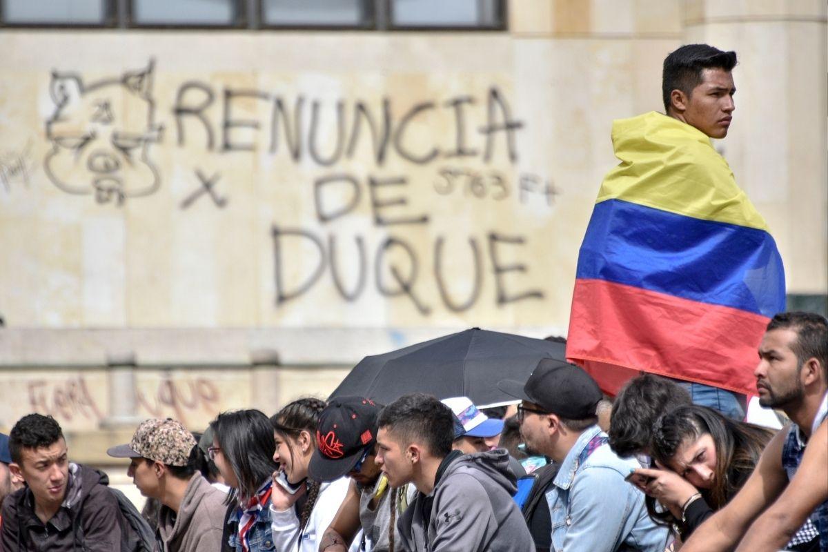 Colômbia greve nacional coloca em xeque o governo de Iván Duque