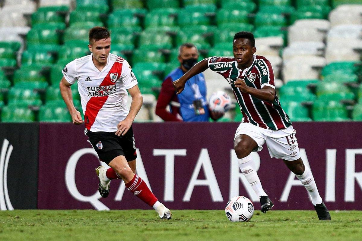 Fluminense e River Plate se enfrentam hoje em Buenos Aires