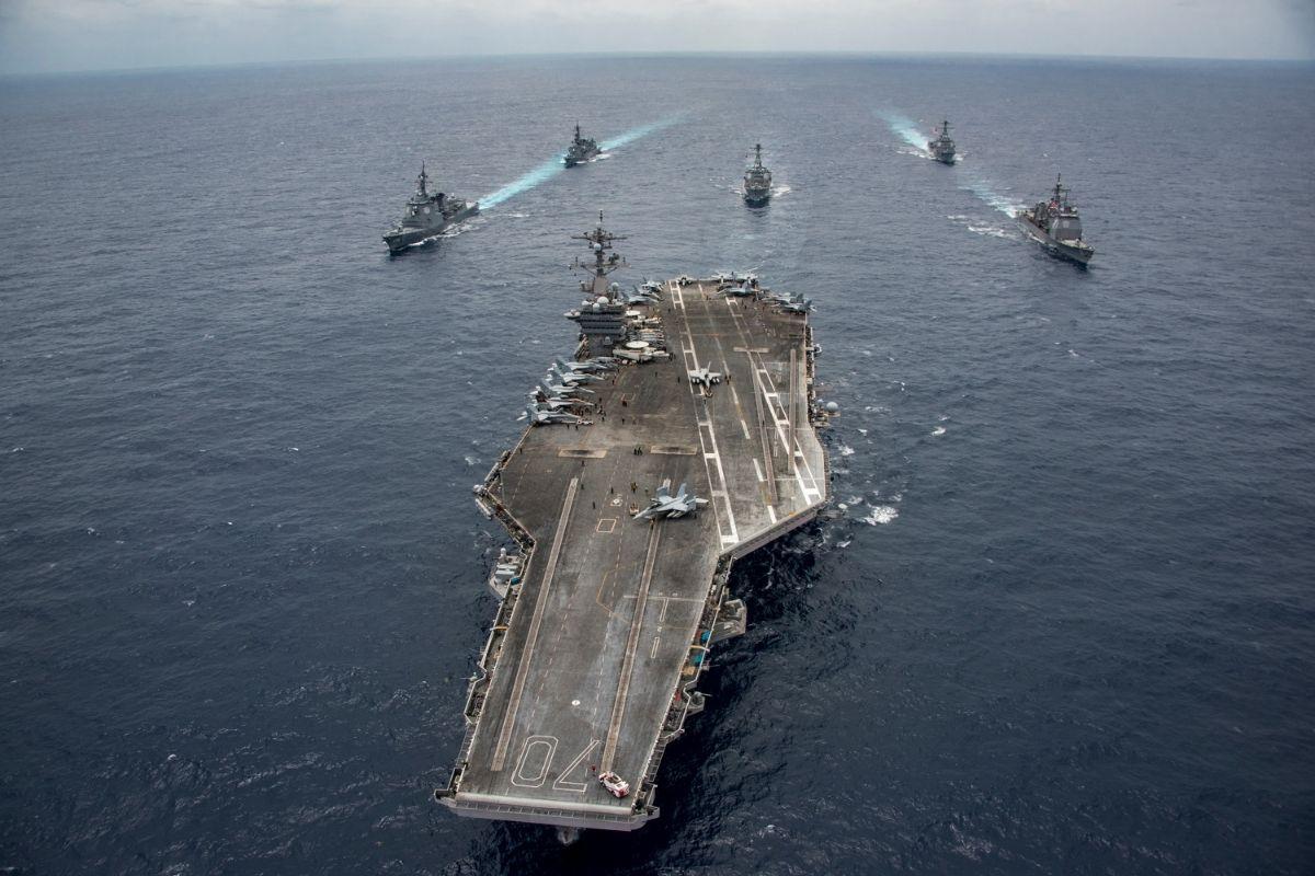 Marinha dos EUA realiza grande apreensão de armas