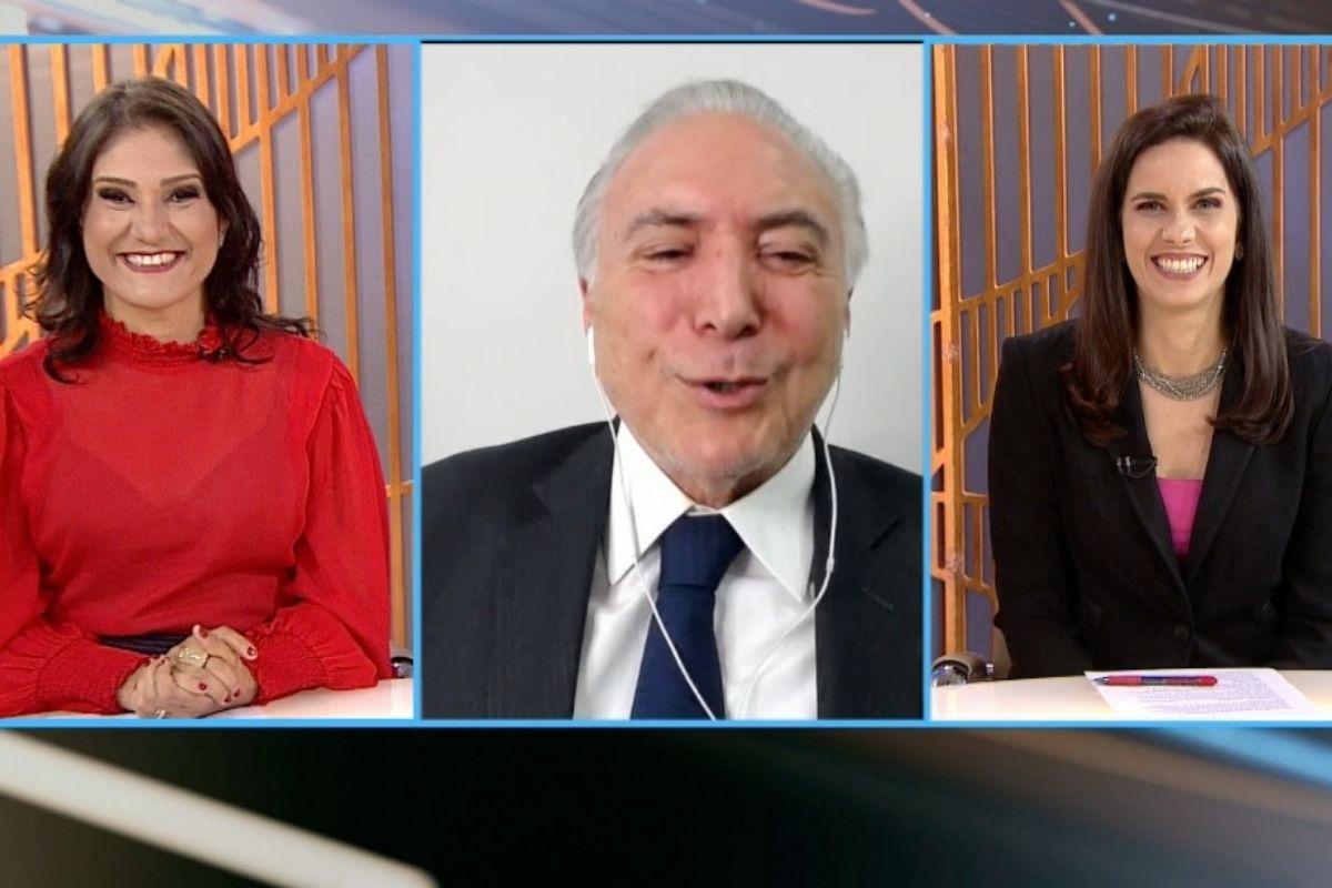 Michel Temer avalia a gestão Bolsonaro em entrevista