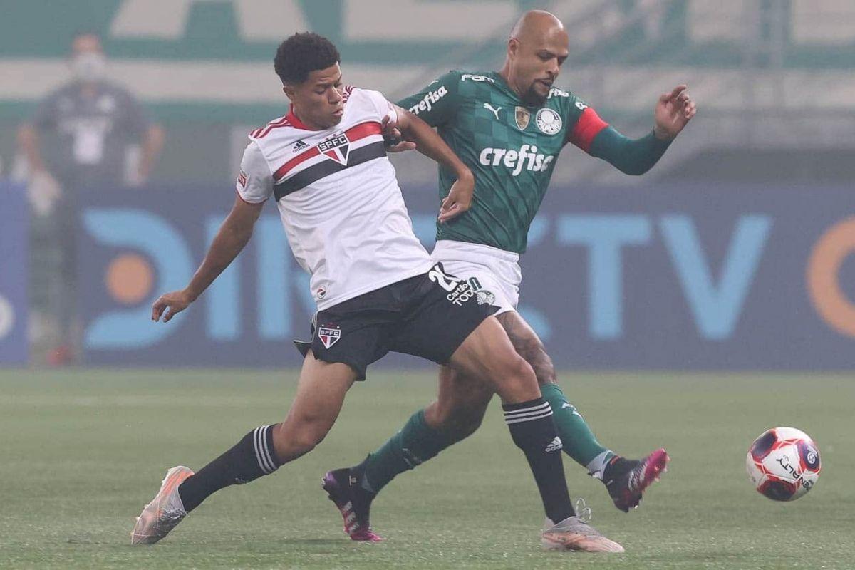 Palmeiras e São Paulo empatam no primeiro jogo da final do Paulistão
