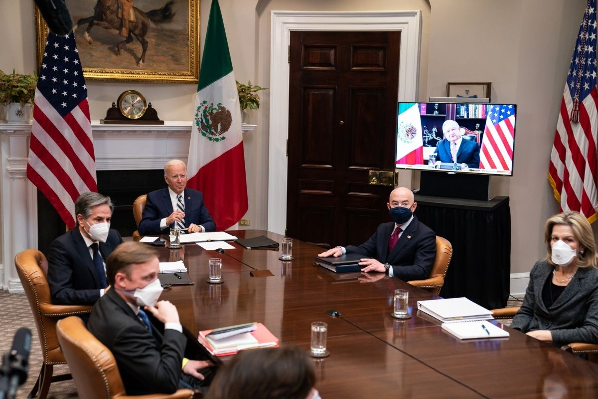 A fronteira EUA México