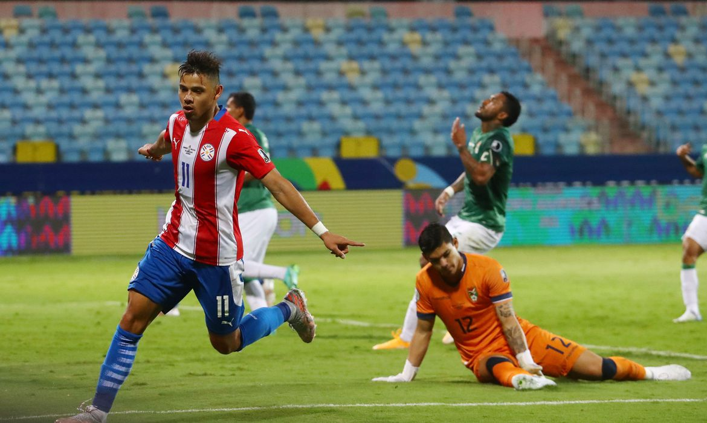 com-dois-de-angel-romero,-paraguai-estreia-na-copa-america-com-vitoria