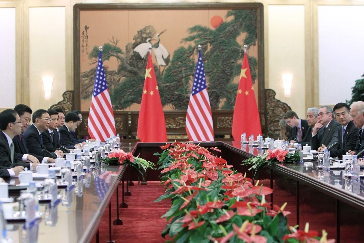 A oposição estadunidense em relação à China