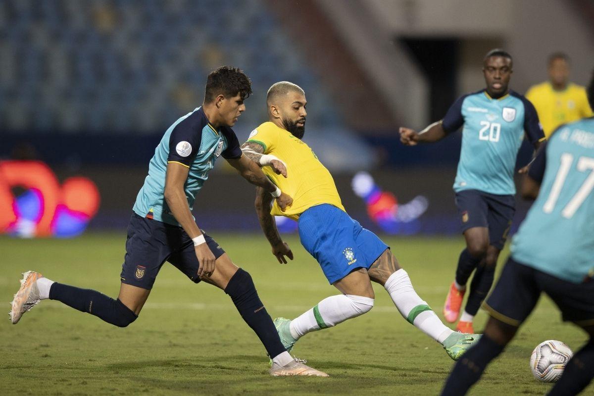 Brasil empata com o Equador pela Copa América