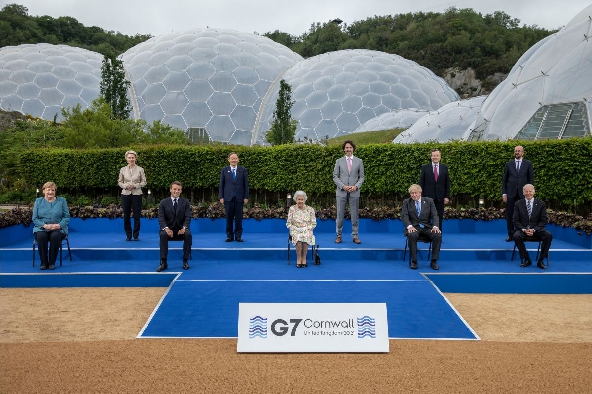 Choque entre China e EUA marcou abertura da cúpula do G7