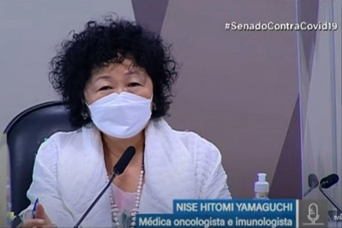 Depoimento de Nise Yamaguchi na CPI da Covid