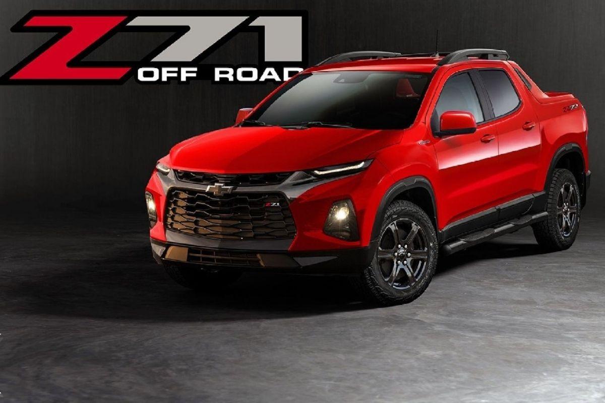 Esta seria a versão esportiva da picape compacta da Chevrolet