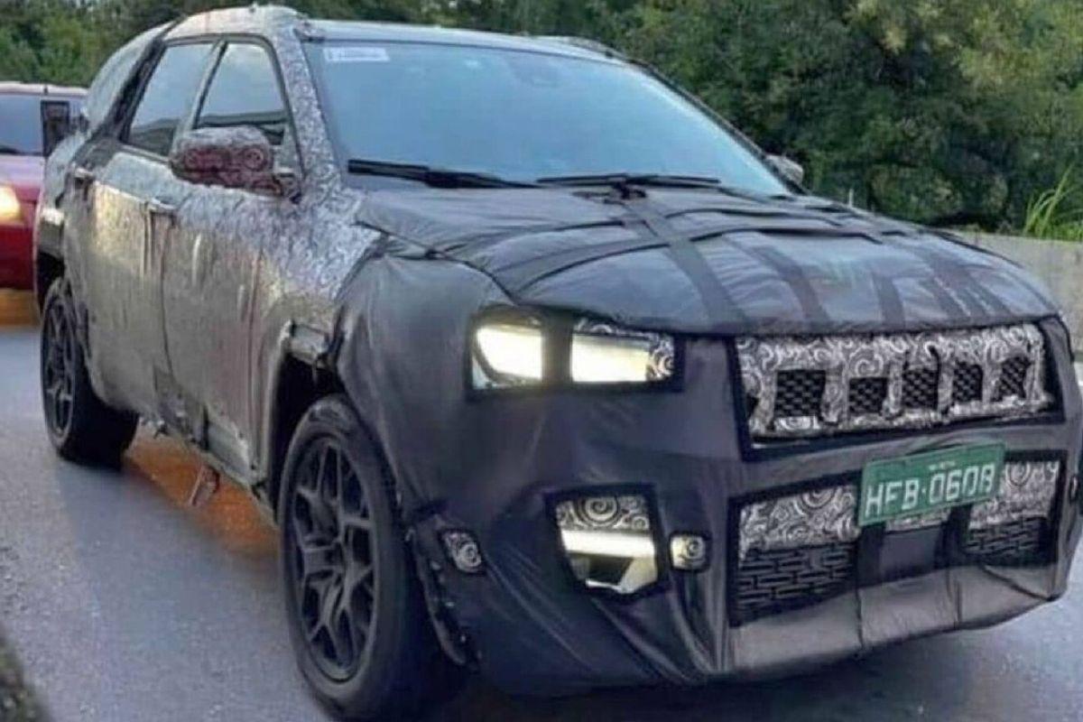 Jeep Commander terá motor turbodiesel com sistema híbrido