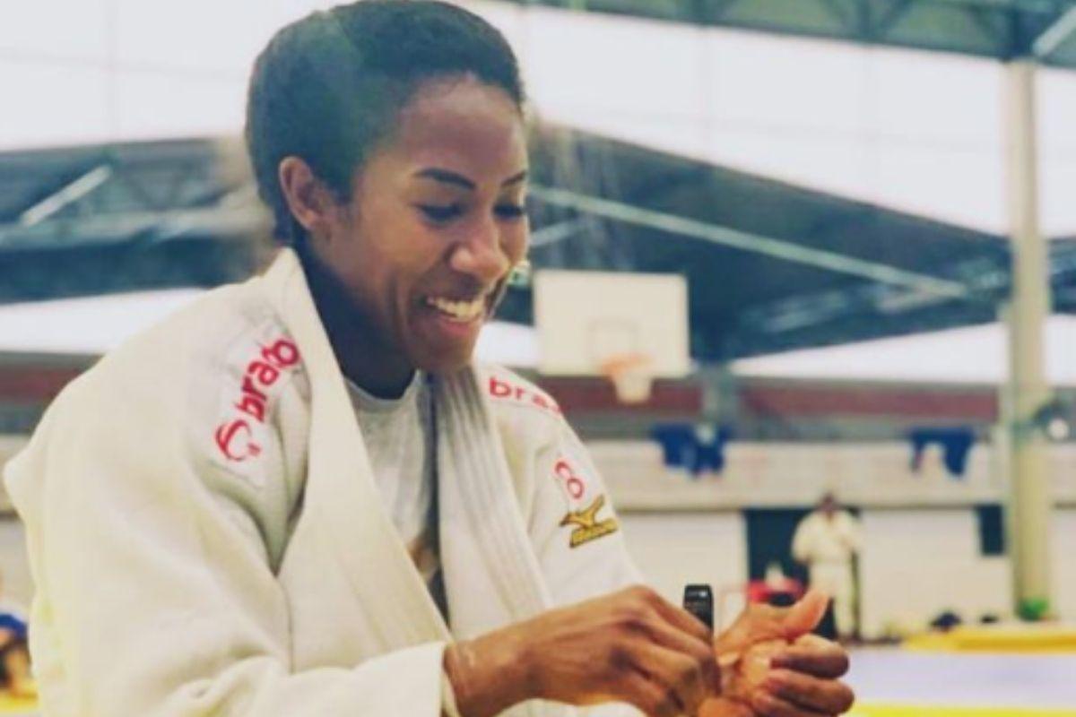 Judoca Ketleyn Quadros garante vaga nos Jogos Olímpicos de Tóquio