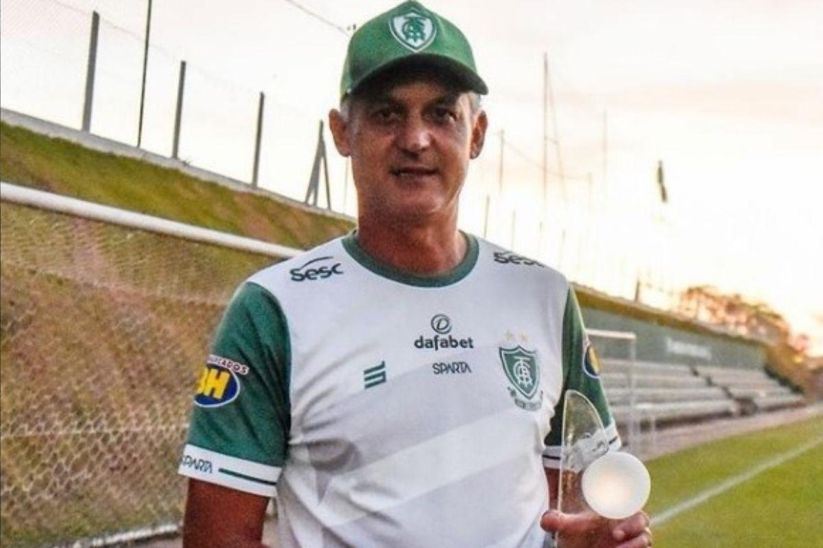 Lisca pede desligamento e não é mais técnico do América Mineiro
