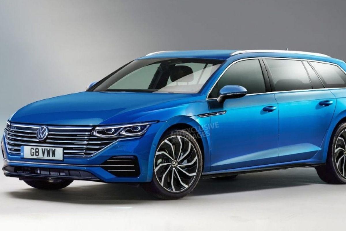 Novo VW Passat será um hatchback ou uma minivan
