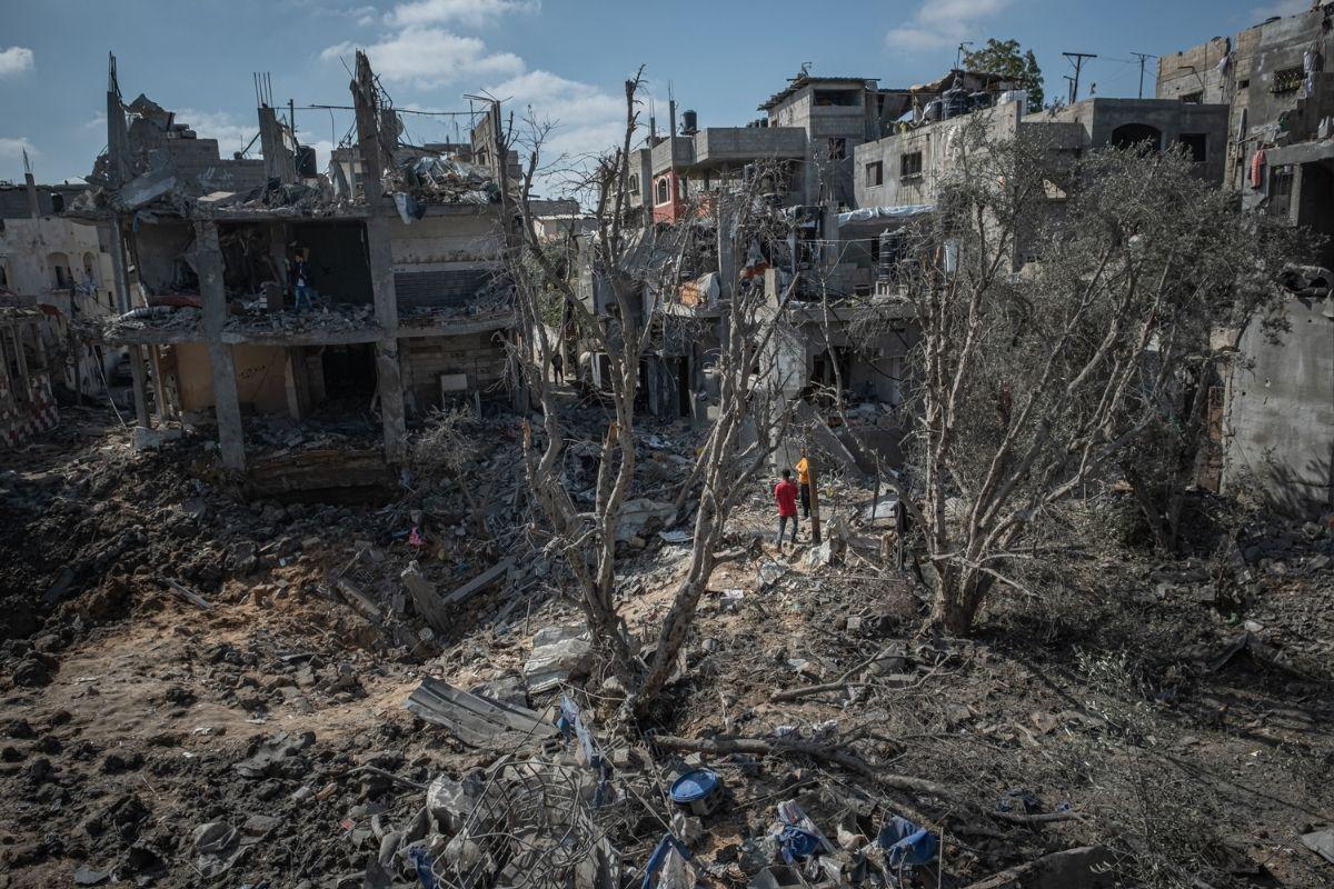 """Reconstrução da Faixa de Gaza pode levar """"décadas"""""""