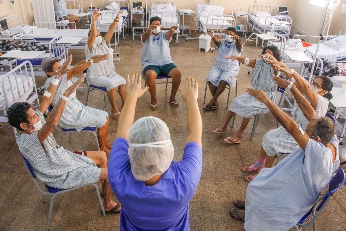 Rio: hospital universitário ganha centro de reabilitação pós-covid-19