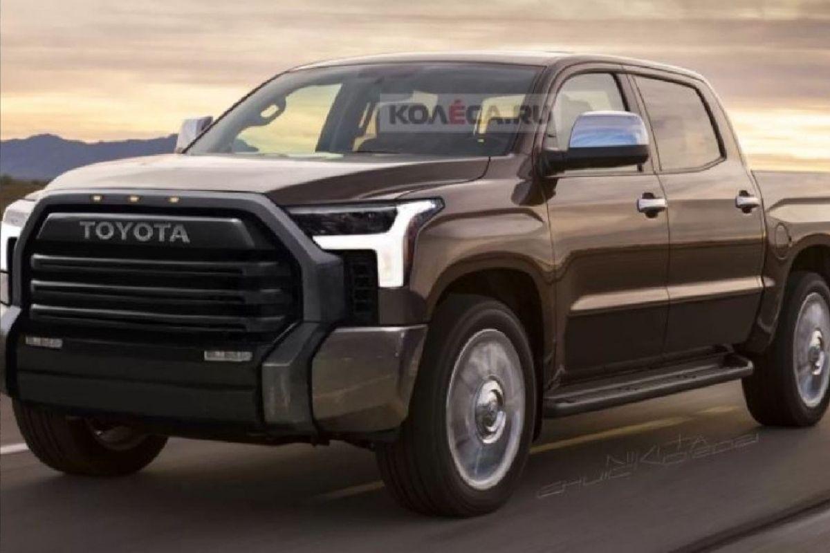 Toyota prepara a nova picape Tundra