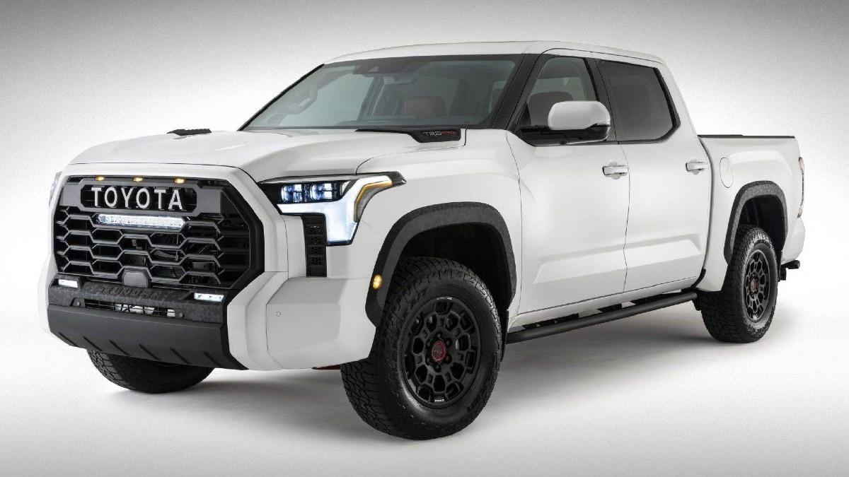 Toyota publica as primeiras fotos oficiais do novo Tundra