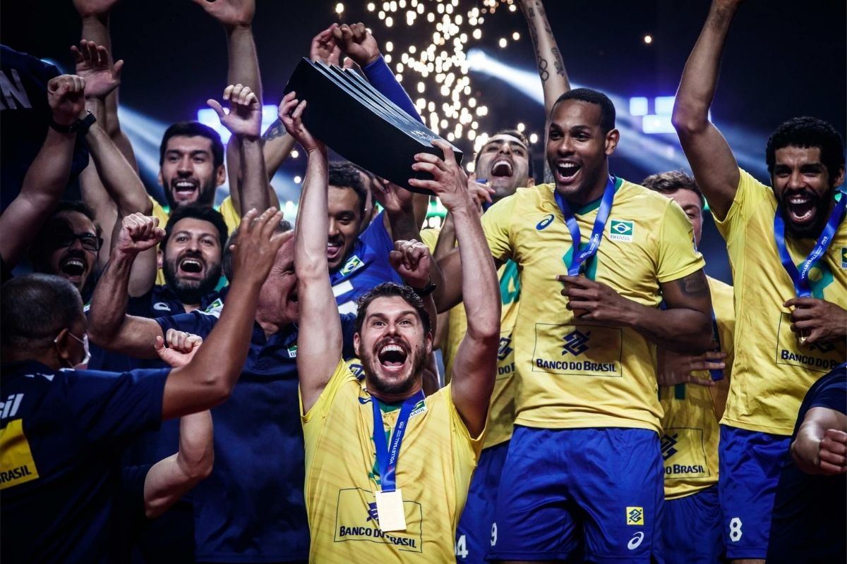 Brasil vence a Polônia e conquista Liga das Nações de Vôlei Masculino