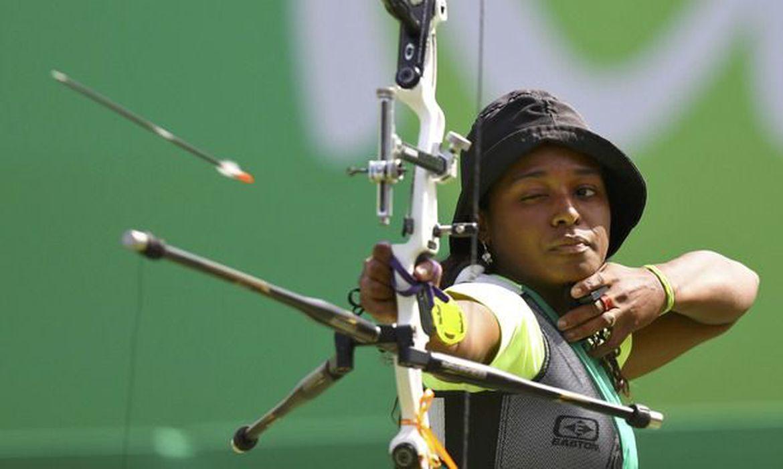 ana-marcelle,-atleta-do-tiro-com-arco,-estreia-esta-noite-na-olimpiada