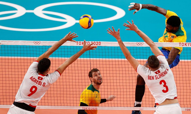 olimpiada:-brasil-passa-pela-tunisia-na-estreia-do-volei-masculino