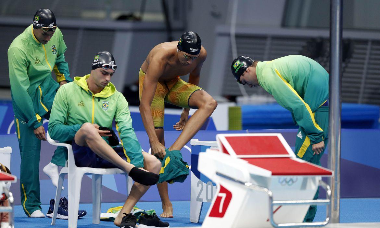 olimpiada:-revezamento-4×200-metros-termina-final-em-oitavo-lugar