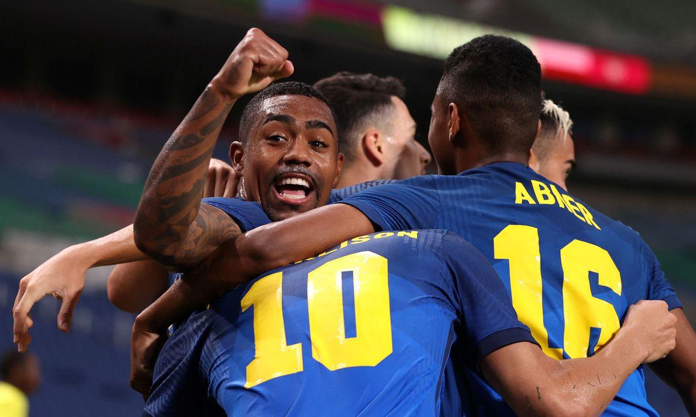 jogos:-brasil-encara-egito-nas-quartas-de-final-do-futebol-masculino