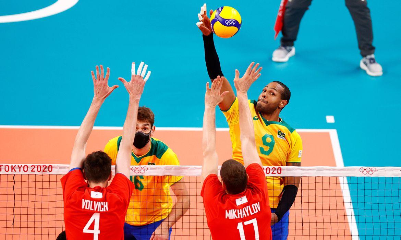 jogos:-brasil-perde-para-o-comite-russo-no-volei-masculino