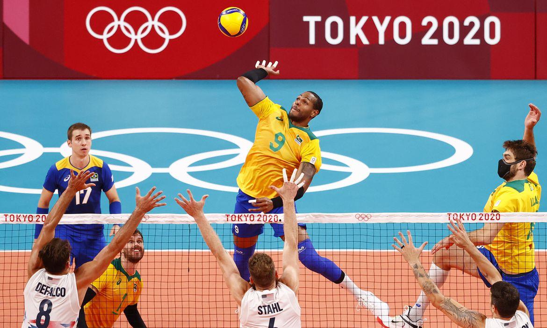 olimpiada:-brasil-bate-eua-e-se-recupera-no-volei-masculino
