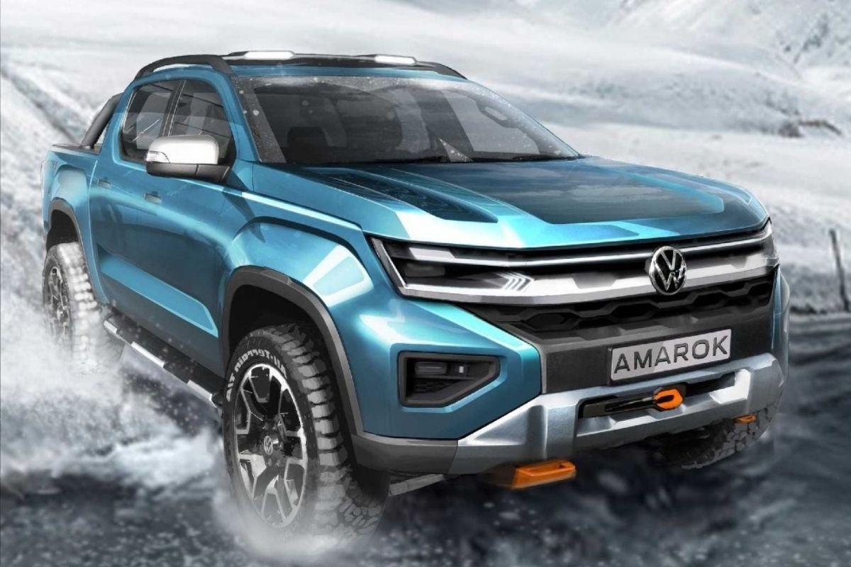 Como será o novo Volkswagen Amarok