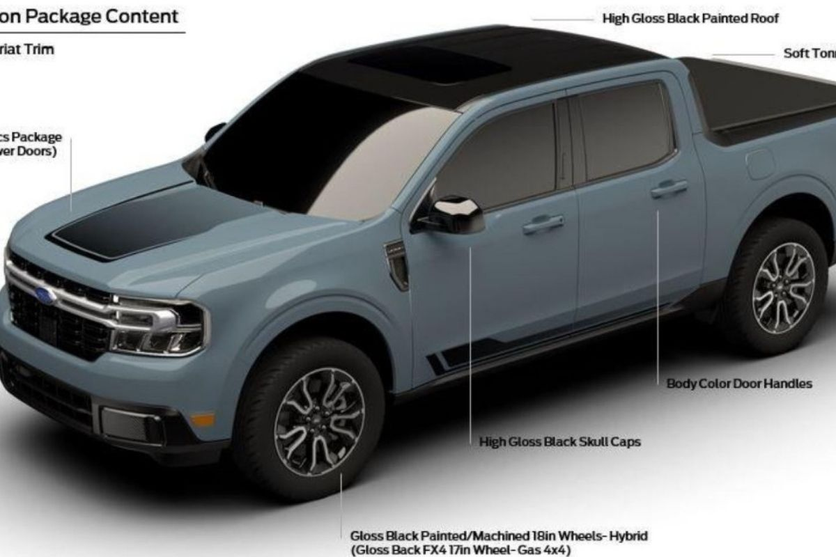 Detalhes do novo Ford Maverick First Edition aparecem