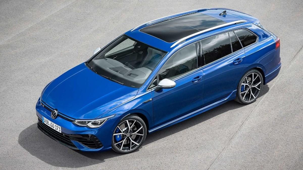 Este é o novo Volkswagen Golf R Variant