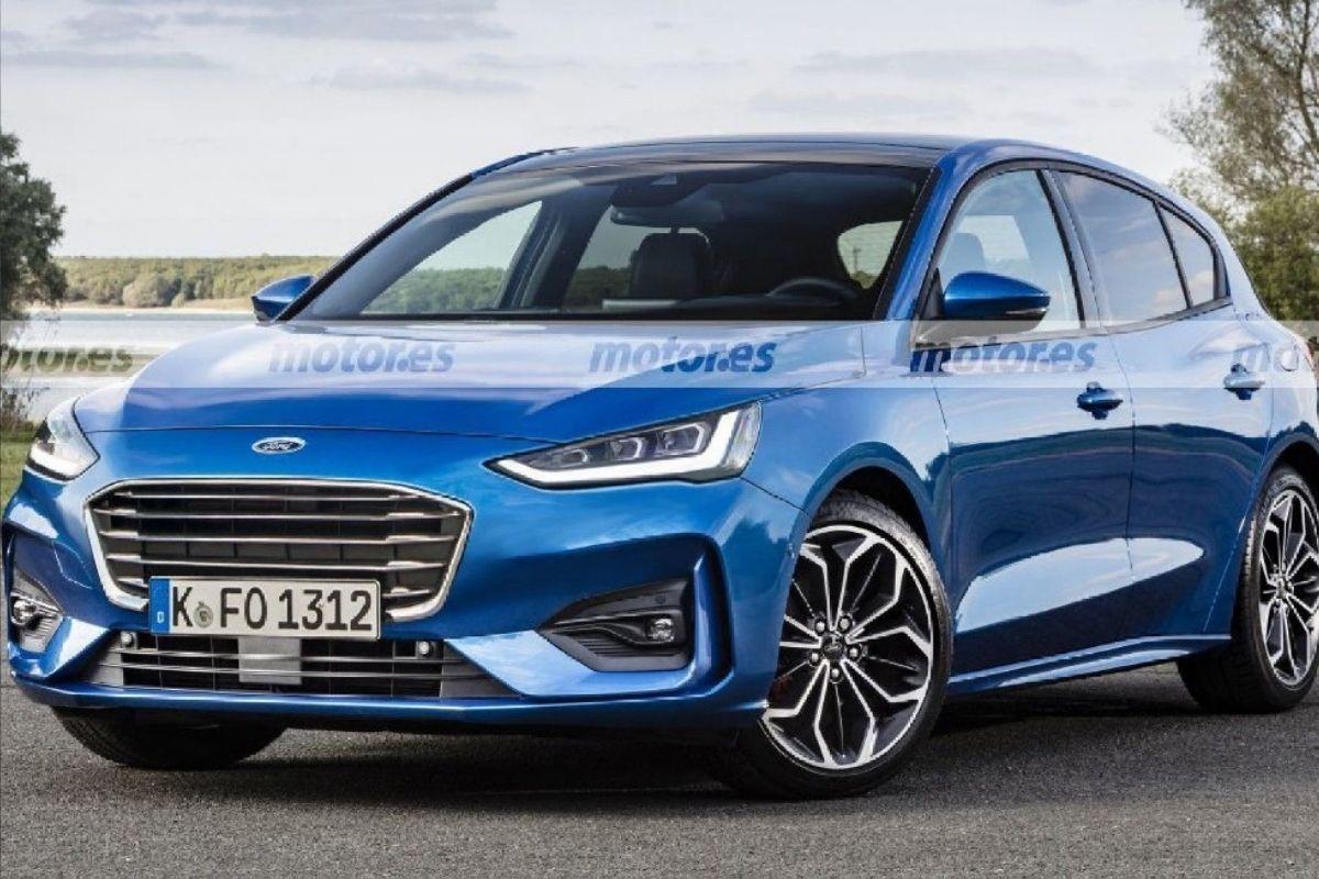 Este seria o novo Ford Focus 2022