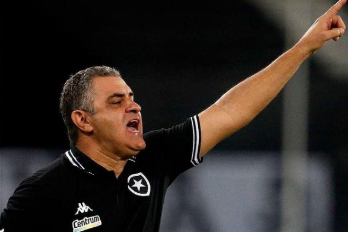 Marcelo Chamusca não é mais técnico do Botafogo