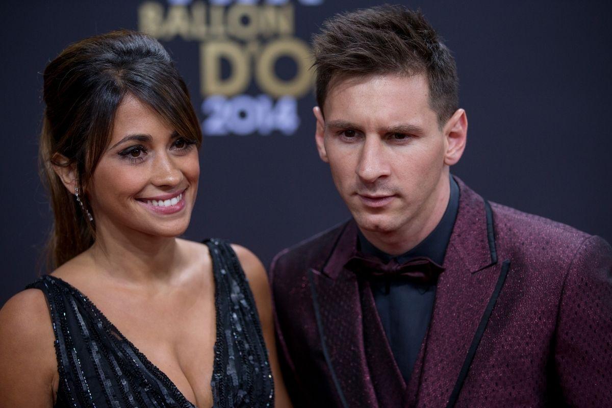 Messi e Antonela Roccuzzo, férias em família em Miami