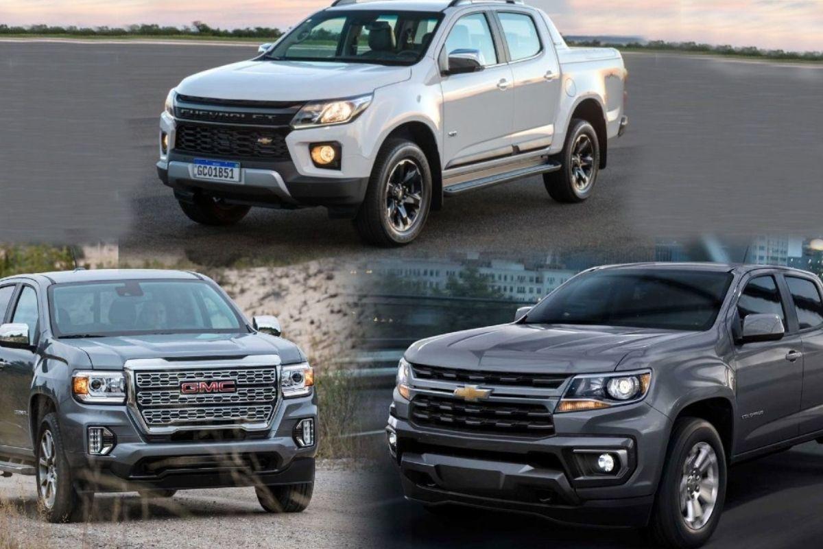 Novo Chevrolet S10 se alinhará com Colorado e GMC Canyon