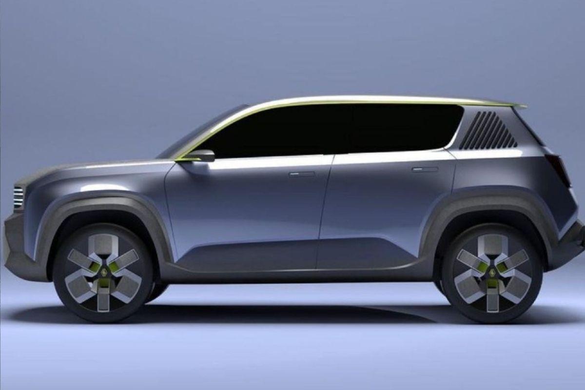 Novo Renault 4 começa a tomar forma