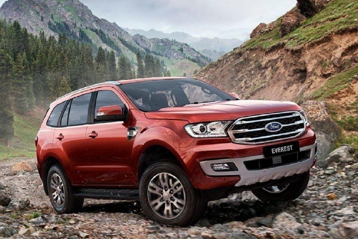 O novo Ford Everest poderia ser a base para o próximo Ranger