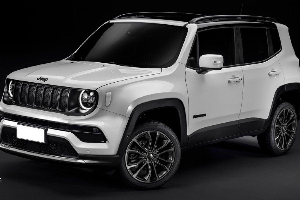 O restyling do novo Jeep Renegade