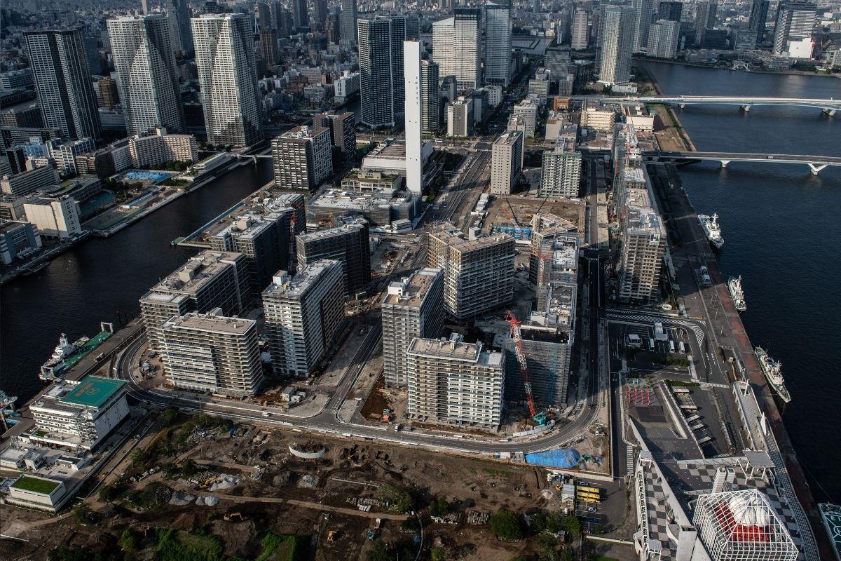 Vila Olímpica de Tóquio é inaugurada sem festa