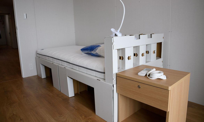 toquio:-olimpiada-sustentavel-usa-camas-de-papelao-e-carros-eletricos