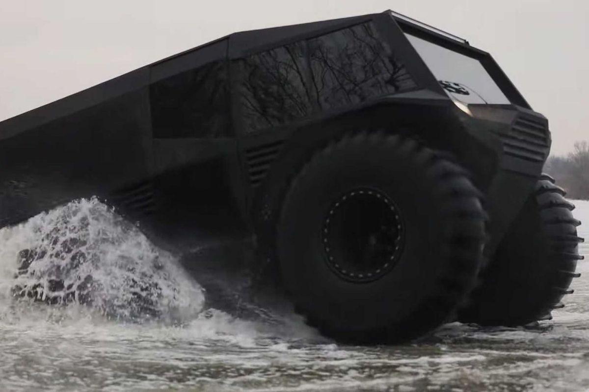 ATV Atlas, a imponente fera ucraniana com motor Duster