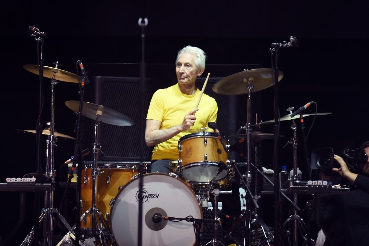 Baterista do Rolling Stones, Charlie Watts, morre aos 80 anos